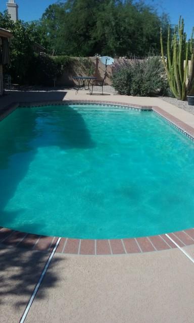 Sparkling Oasis Pool and Spa_Green Pool in Phoenix_One week