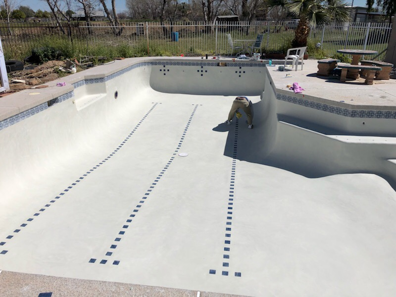 pool resurfacing by sparkling oasis pool and spa